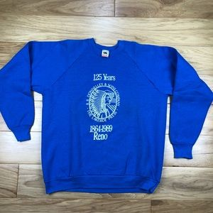 Vintage 1989 RR Donnelly Sweatshirt Reno Nevada